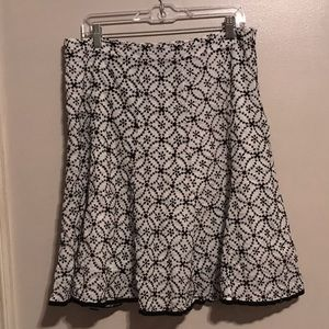 Vintage  Michele Skirt, Embroidered, 14
